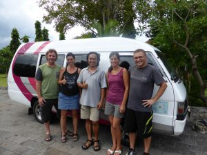 rental car with driver Java Bali Indonesia