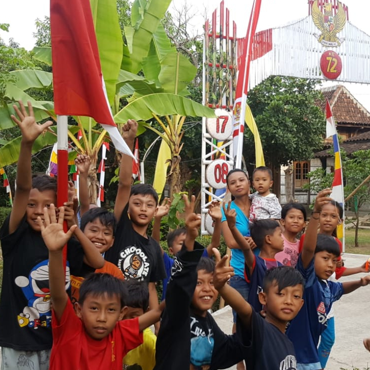 kinderen in Indonesie