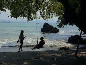 strand vakantie met kinderen Bali