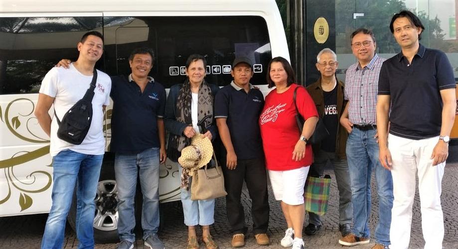 nostalgische tour over Java
