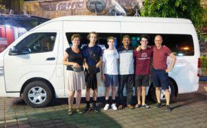 Onze Nederlandssprekende chauffeur en gids Kamto