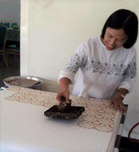 Batik design uit Indonesie