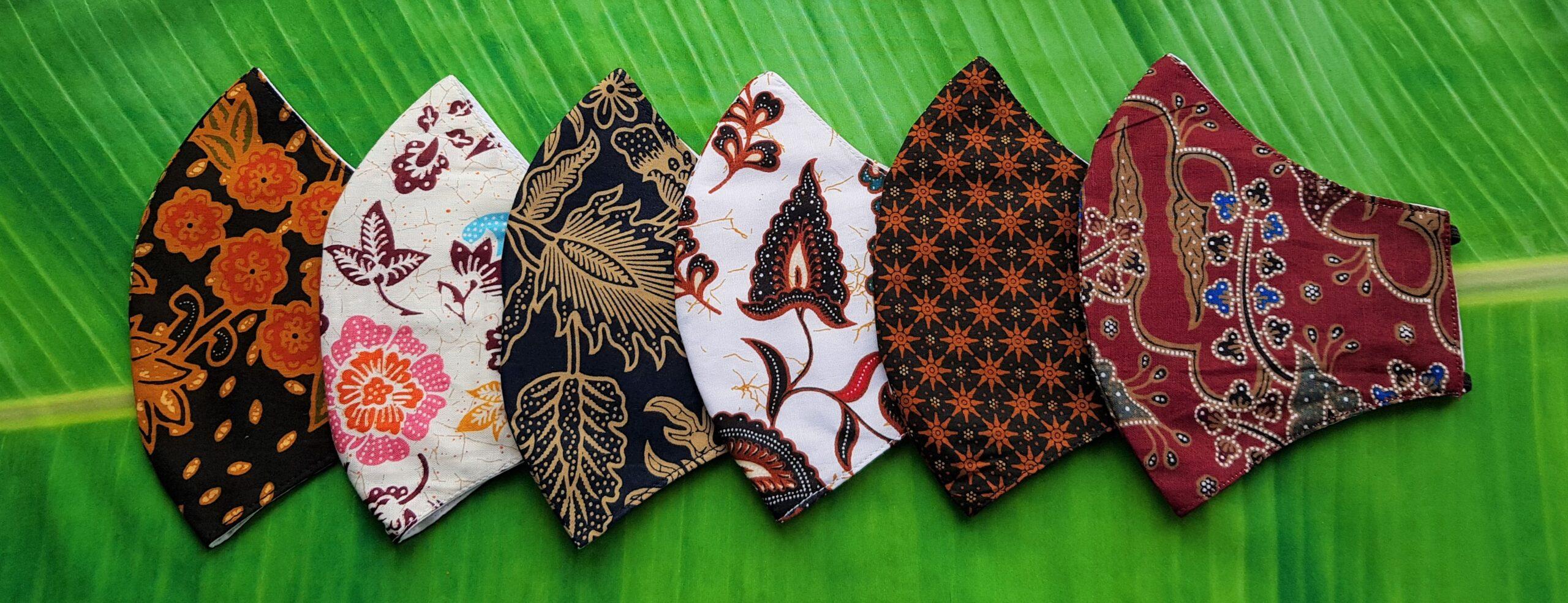 batik mondkapjes indonesie