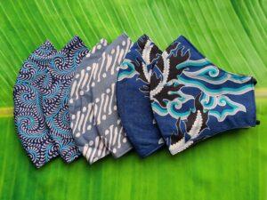 batik mondkapjes handgemaakt
